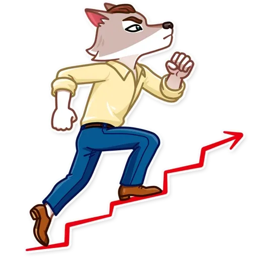 The Wolf 2 - Sticker 1