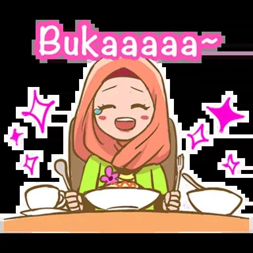 Puasa Ramadhan - Sticker 20