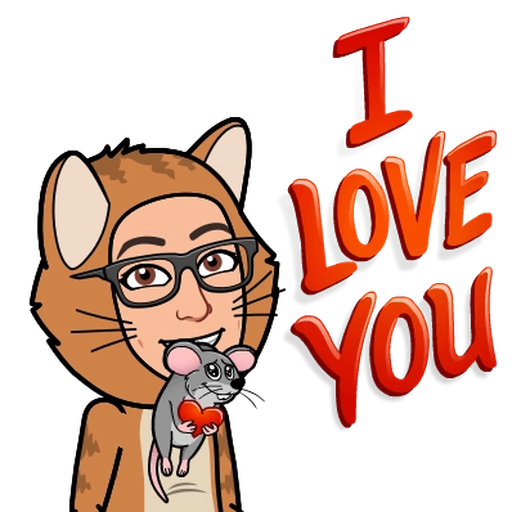 Love you - Sticker 2