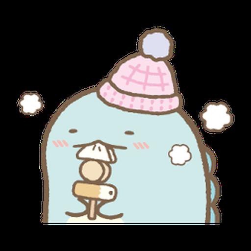 Sumikko gurashi (冬季篇) - Sticker 1