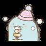 Sumikko gurashi (冬季篇) - Tray Sticker