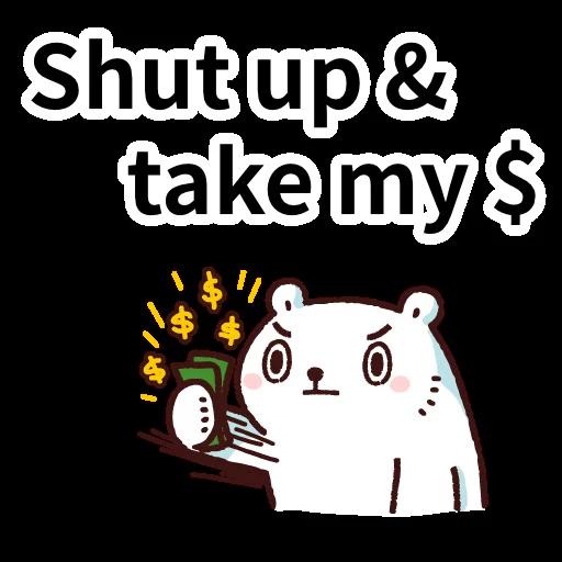 白熊淘寶3 - Sticker 16