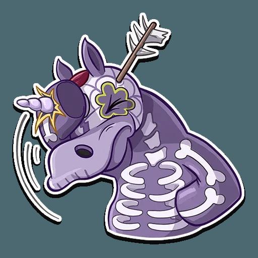 Undead Unicorn - Sticker 2