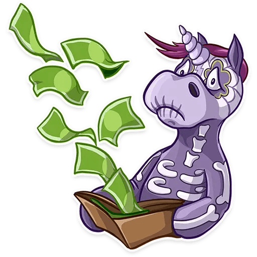 Undead Unicorn - Sticker 3