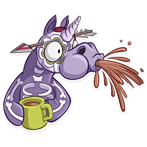 Undead Unicorn - Sticker 25