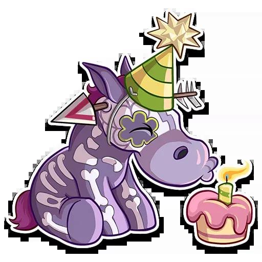 Undead Unicorn - Sticker 16