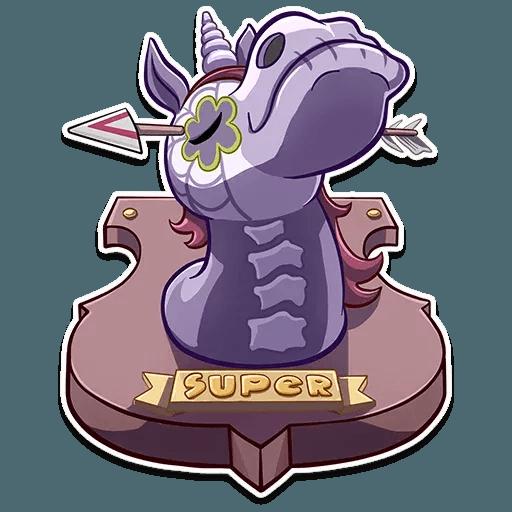 Undead Unicorn - Sticker 11