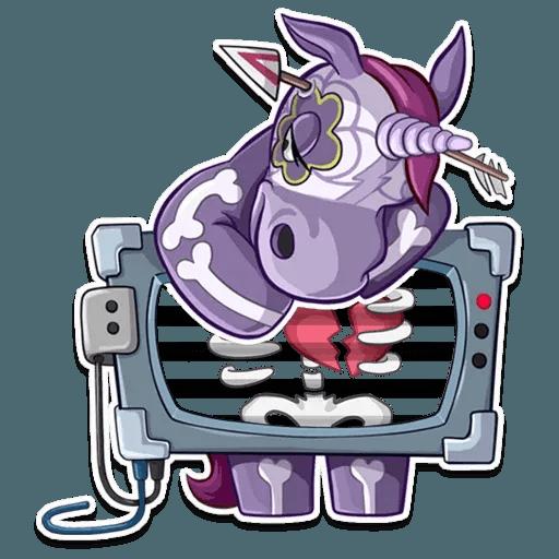 Undead Unicorn - Sticker 7