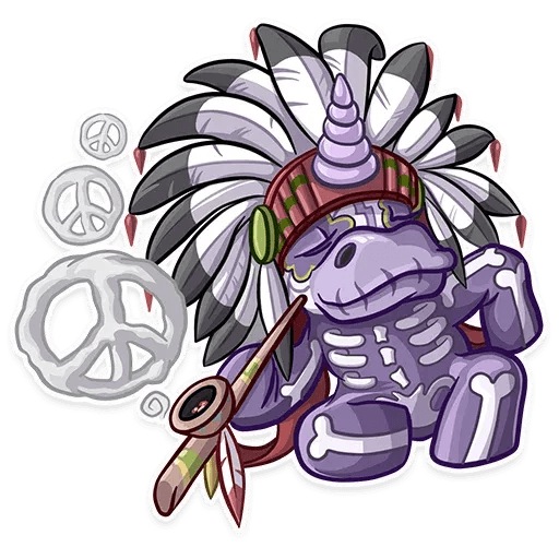 Undead Unicorn - Sticker 10