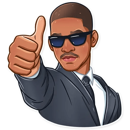 Men In Black @TrendingStickers - Sticker 3