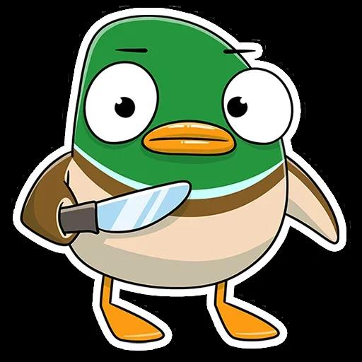 Duck - Sticker 18