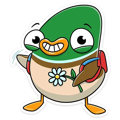 Duck - Sticker 1