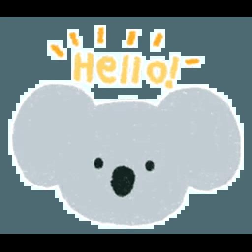 Koala - Tray Sticker