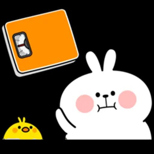 plump rabbit - Sticker 8