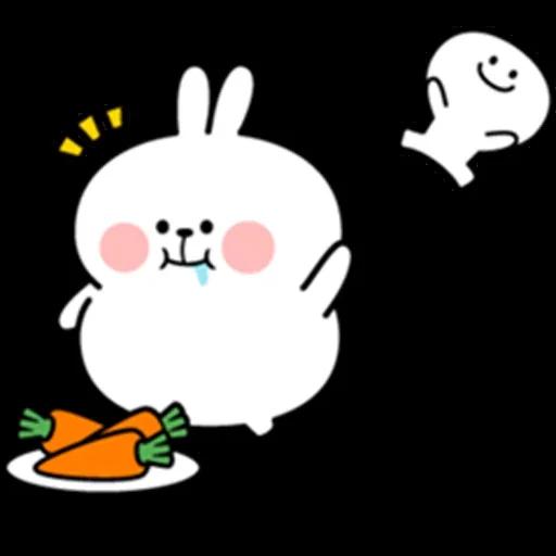 plump rabbit - Sticker 7