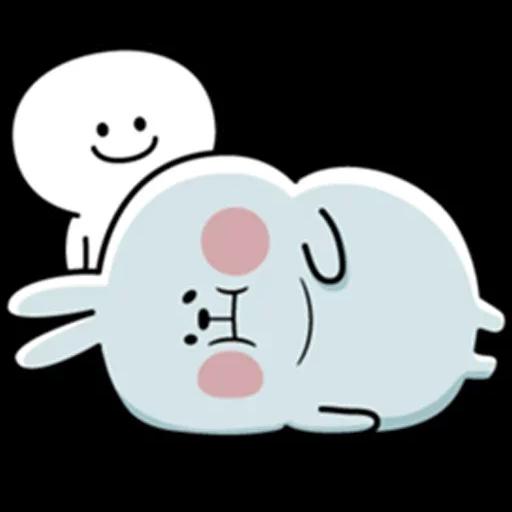 plump rabbit - Sticker 6