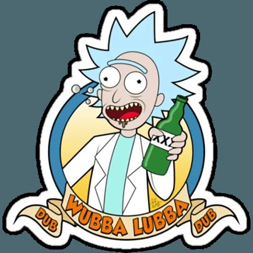 Rick & Morty 2 - Sticker 24