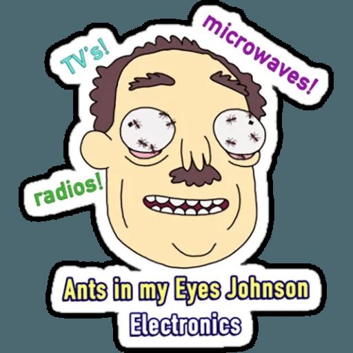 Rick & Morty 2 - Sticker 20