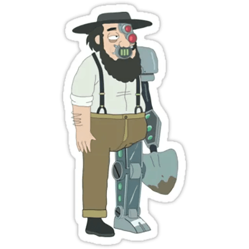 Rick & Morty 2 - Sticker 30