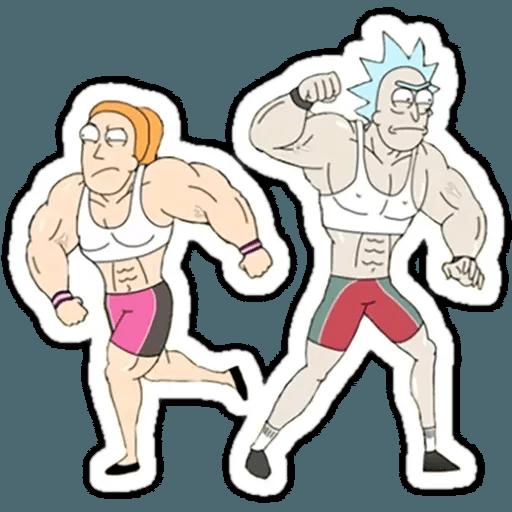 Rick & Morty 2 - Sticker 2