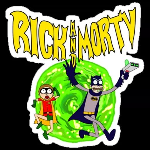 Rick & Morty 2 - Sticker 3