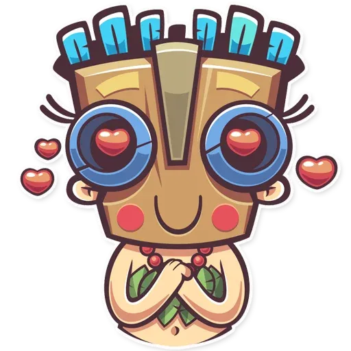 Tribal Masquerade - Sticker 14