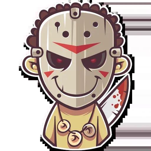 Tribal Masquerade - Sticker 18
