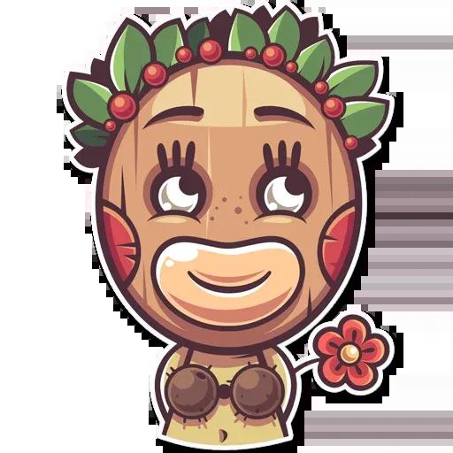 Tribal Masquerade - Sticker 20