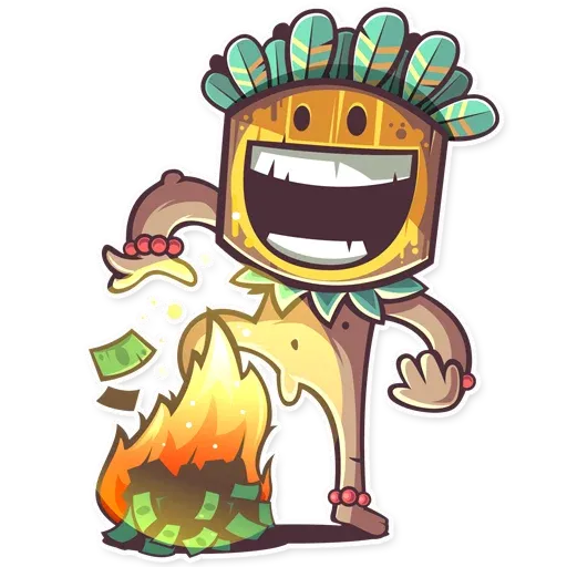 Tribal Masquerade - Sticker 9