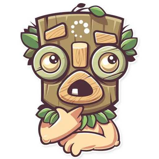 Tribal Masquerade - Sticker 4