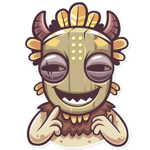Tribal Masquerade - Sticker 15