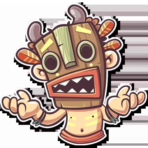 Tribal Masquerade - Sticker 11