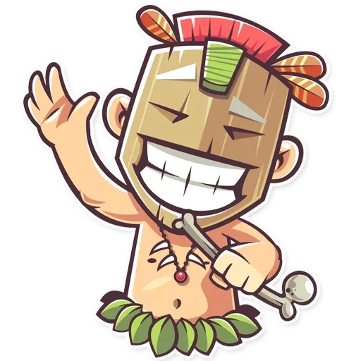 Tribal Masquerade - Sticker 8
