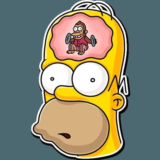 Homer Simpson - Sticker 12