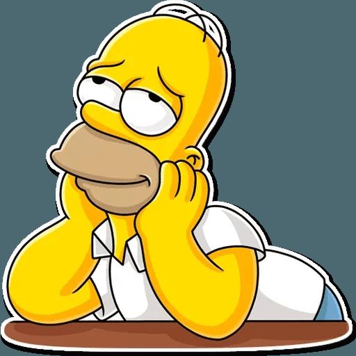 Homer Simpson - Sticker 22