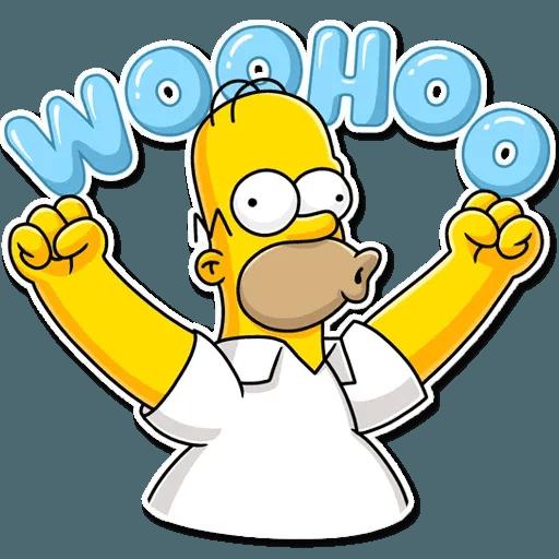 Homer Simpson - Sticker 14