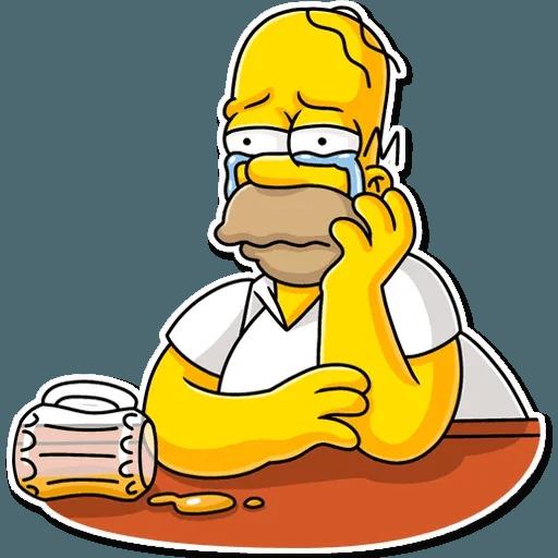 Homer Simpson - Sticker 10