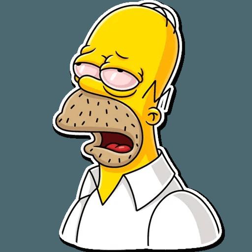 Homer Simpson - Sticker 21