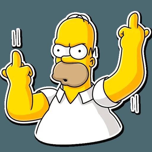 Homer Simpson - Sticker 9