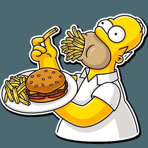 Homer Simpson - Sticker 20