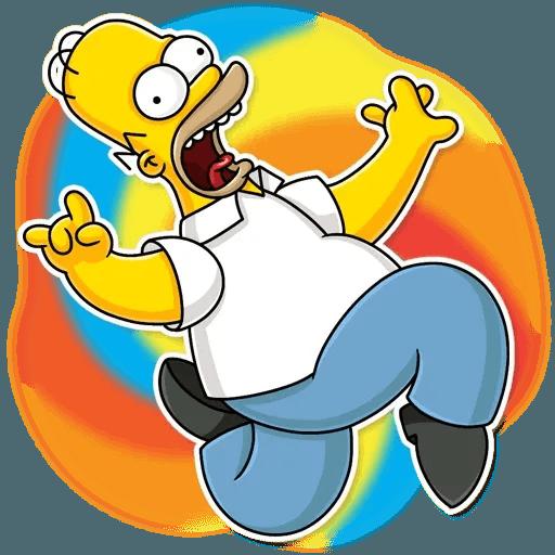 Homer Simpson - Sticker 7