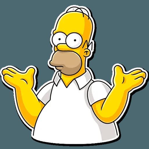 Homer Simpson - Sticker 28