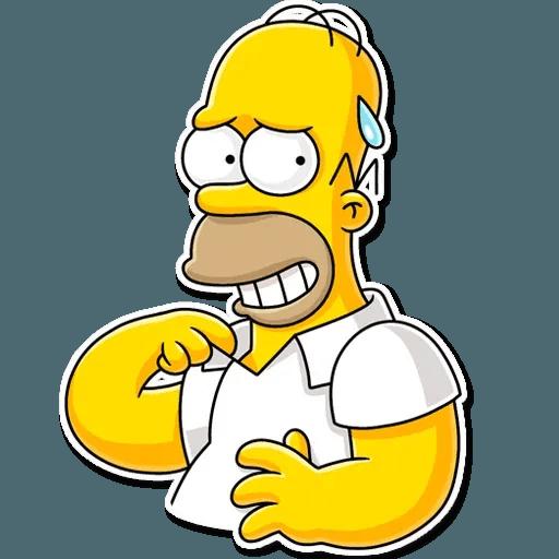 Homer Simpson - Sticker 25