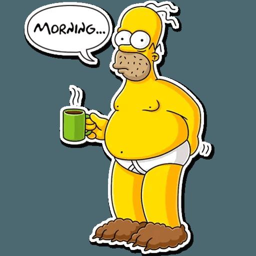 Homer Simpson - Sticker 8