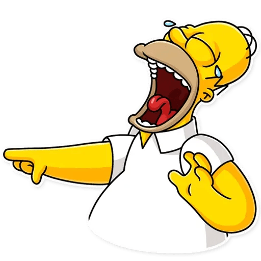 Homer Simpson - Sticker 2