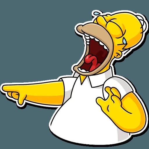 Homer Simpson - Sticker 2