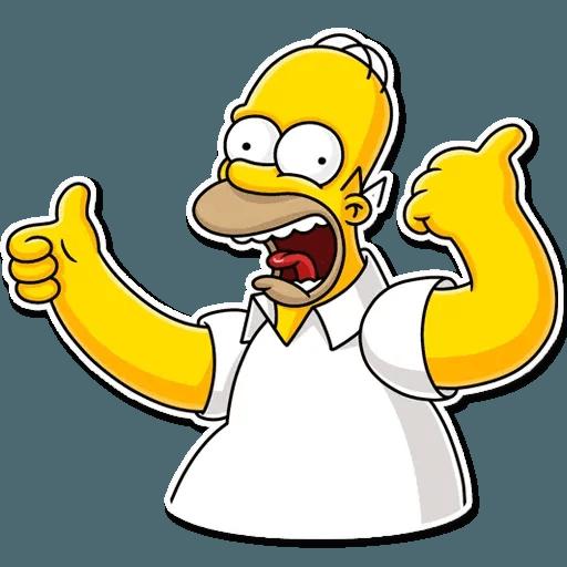 Homer Simpson - Sticker 5