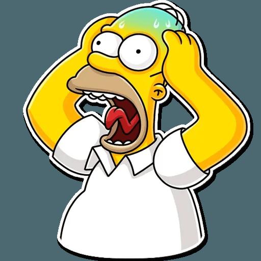 Homer Simpson - Sticker 6