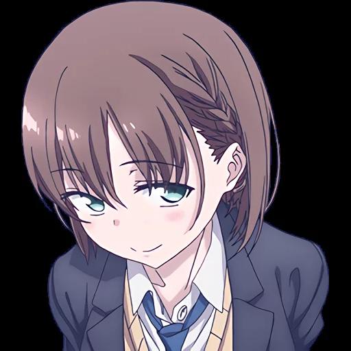 Ai-chan (Tawawa on Monday) - Tray Sticker
