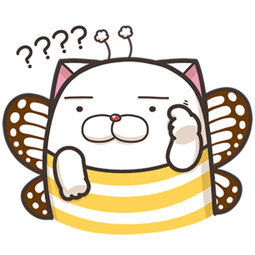 撚撚的白爛貓 - Sticker 28